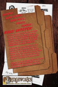 Raus Untoten back cover